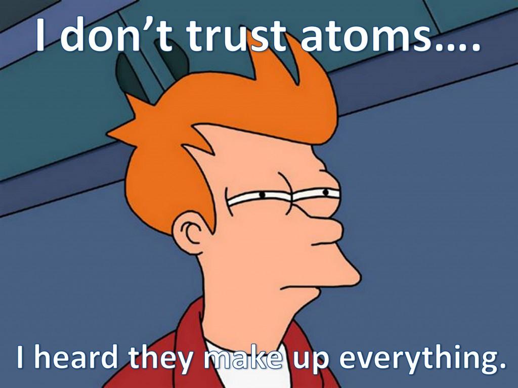 Futurama chemistry