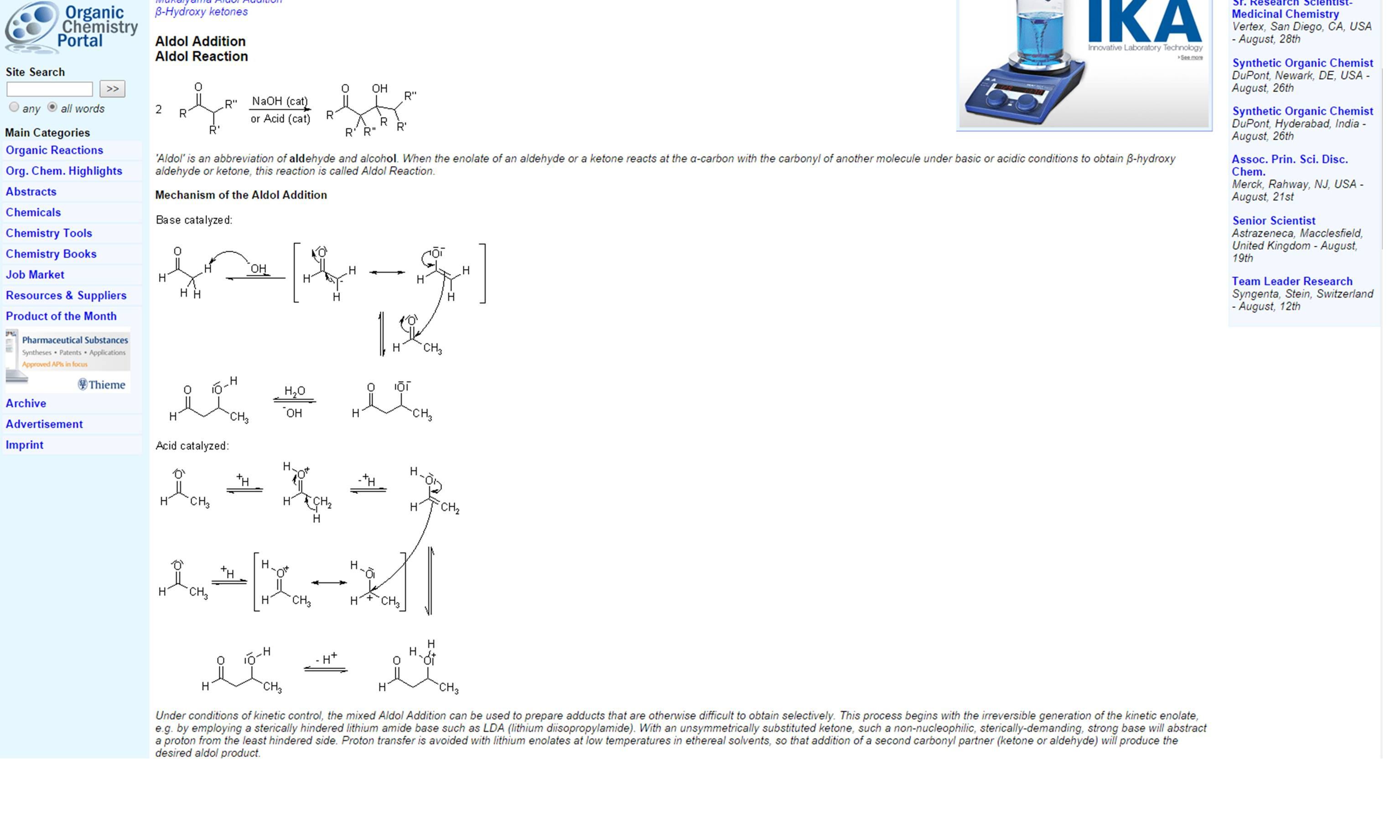 Organic Chemistry Reaction Map v5