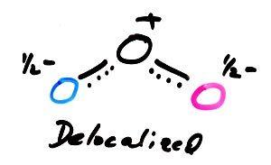 electron delocalization