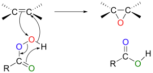 mechanism of epoxidation