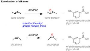 epoxidation of alkenes